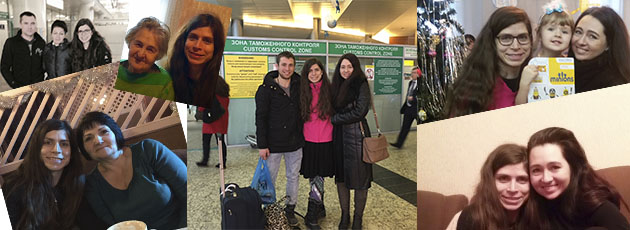 Svetlana's story when she visited Russia to meet her Russian biological family!