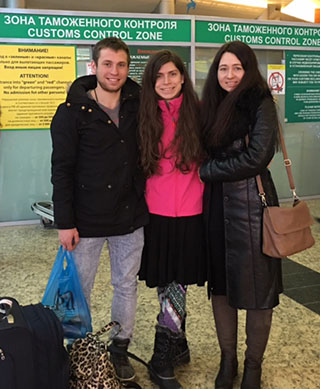 Meeting biological parents and relatives in Russia