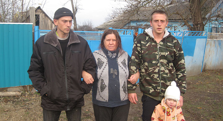 Nicholas Mathews found his birth mother, siblings and relatives in Krasnodar, Russia
